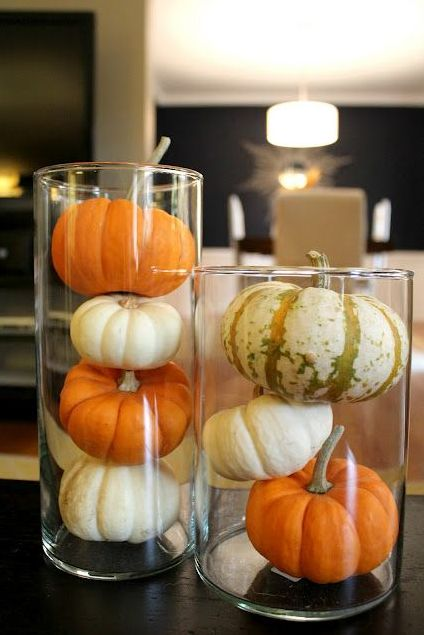 Easy Ideas for DIY Thanksgiving Decor: Pumpkin Tumblers