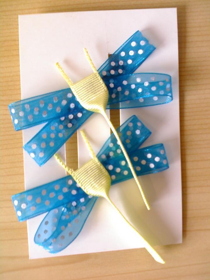 Diseño original y divertido Libelulas Azul-verde