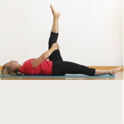 Stretching : étirement de l\'arrière de la cuisse, troisième exercice