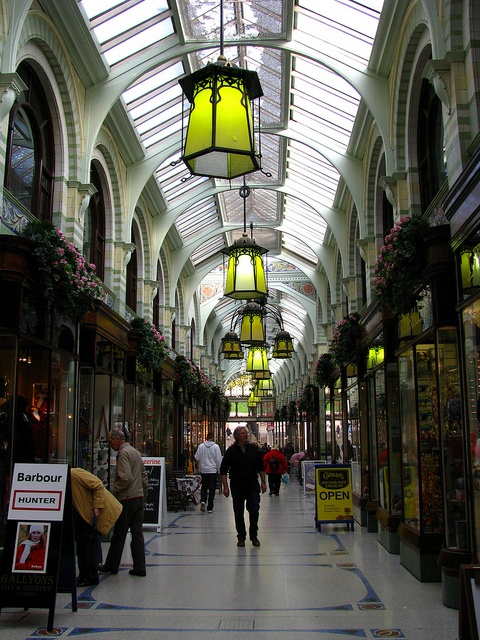 Royal Arcade, Norwich, England. Shopping here is a pleasure....as well as the fine restuarants.