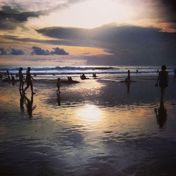 Bali Beaches - Seminyak Sunset