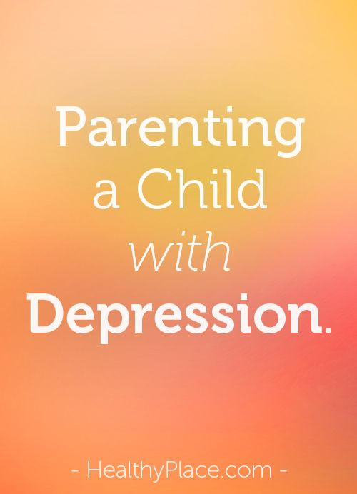 Parenting a depressed child can be very difficult. Here are suggestions for helping your child with depression.   www.HealthyPlace.com