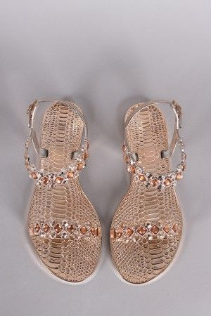 Sandalias en silicona