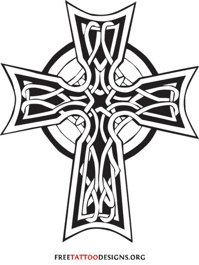 50 cross tattoos tattoo designs of holy christian celtic and tribal crosses mikerock7. Black Bedroom Furniture Sets. Home Design Ideas