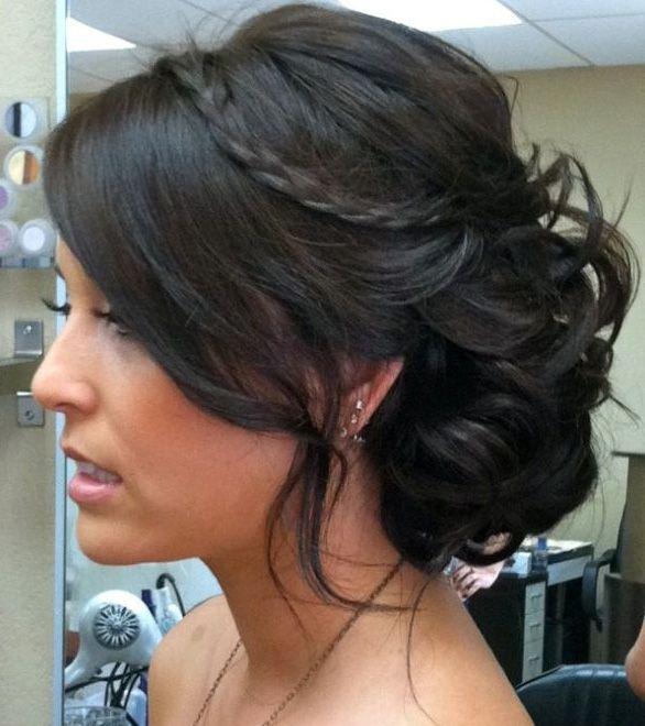 updo hairstyles for medium hair 2013