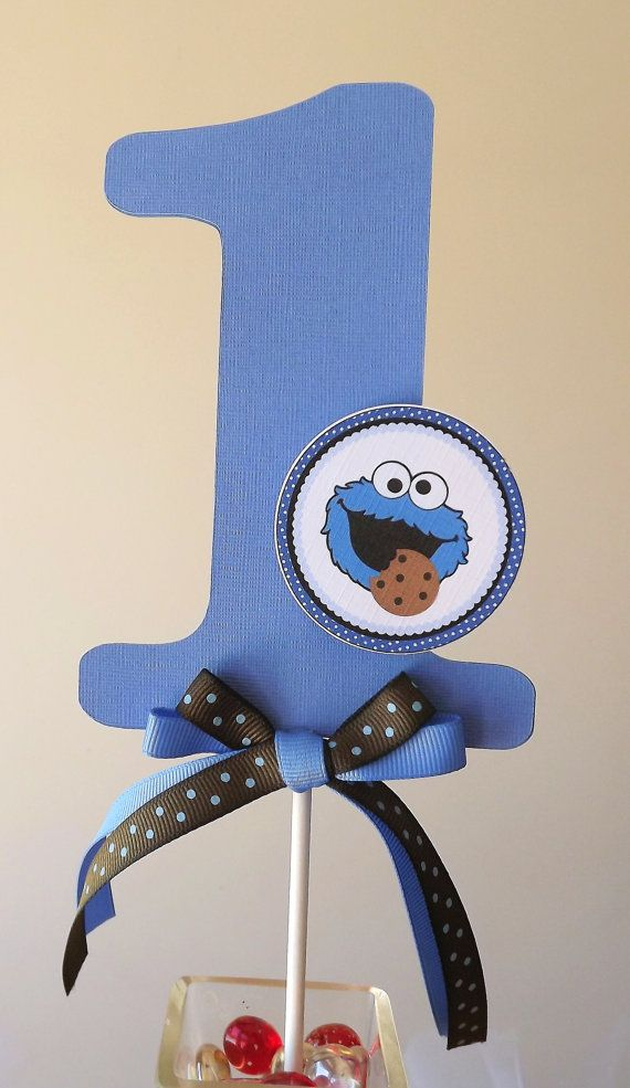 Cookie Monster Inspired Collection Smash by SerendipityPartyShop, $6.00