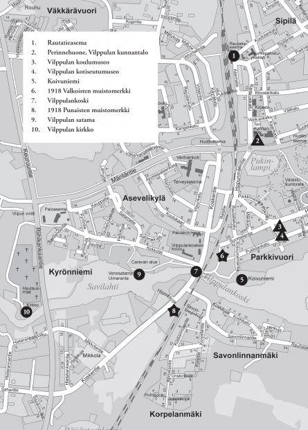 VILPPULA HISTORY ROUTE - Mänttä-Vilppula