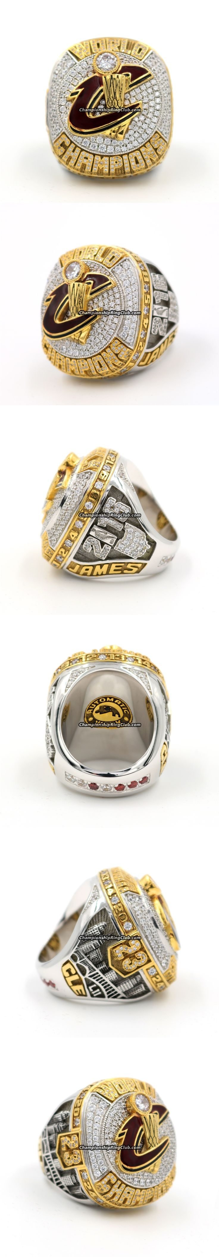 2016 Cleveland Cavaliers NBA World Championship Ring-14