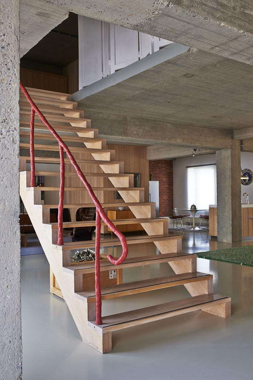 Studio Job Loft - Picture gallery #architecture #interiordesign #staircase