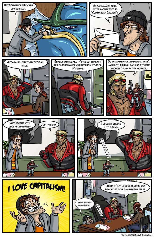 07/05/2010 The punchline is machismo Funny Comic