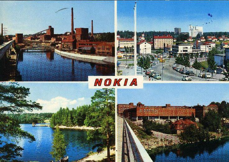#Nokia #postikortit #maisemakortit #tehtaat #kaupungit
