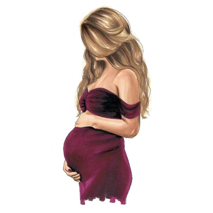 Nein, ich bin nicht schwanger, aber ich dachte, ich würde eine für alle diejenigen tun, die pregg sind … – Kunst