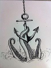 45354_10152294540515646_567961535_n (kquinn7892) Tags: art water tattoo pen design sketch legs anchor octopus