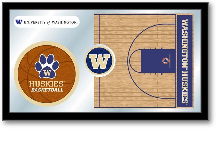 Washington Huskies Basketball Sports Team Mirror at SportsFansPlus.com. Visit website for details!