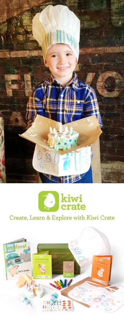 Give the gift of monthly hands-on kids' projects designed to spark creativity and curiosity from Kiwi Crate and save 30% on your 1st month with code PINTEREST30! Offer available through April 30!