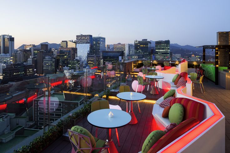 Le Style Bar/ 르 스타일 바 / Rooftop Bar/ 루프탑 바
