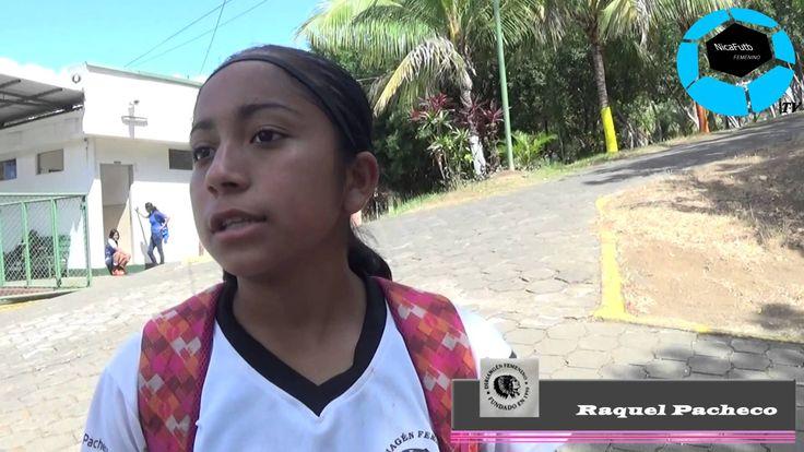 """""""Soy pequeña y con este comienzo puedo prosperar en el fútbol"""" - Raquel ..."""