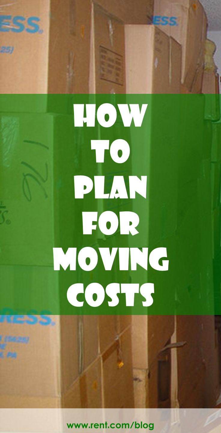 Planning a #move sometime soon? If so, it's time to budget for #moving costs. [Rent.com Blog]