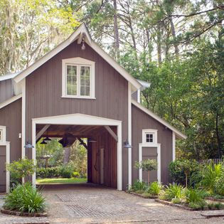 Barns With Living Quarters Design Ideas, Pictures, Remodel and Decor