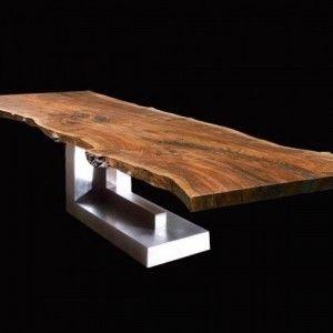 Slovensky-Italiano-English  Návrat k prírode - objavte spolu s nami čaro, ktoré so sebou prináša prírodné masívne drevo. Stôl, ktorý Vám ponúkame je vyrobený z exotického dreva SUAR, v...