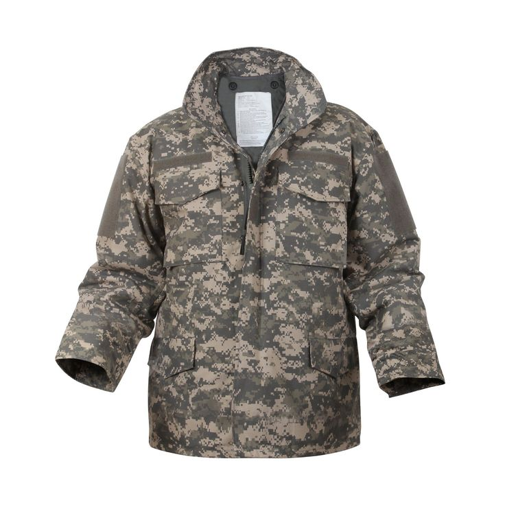 Digital Camo M-65 Field Jacket