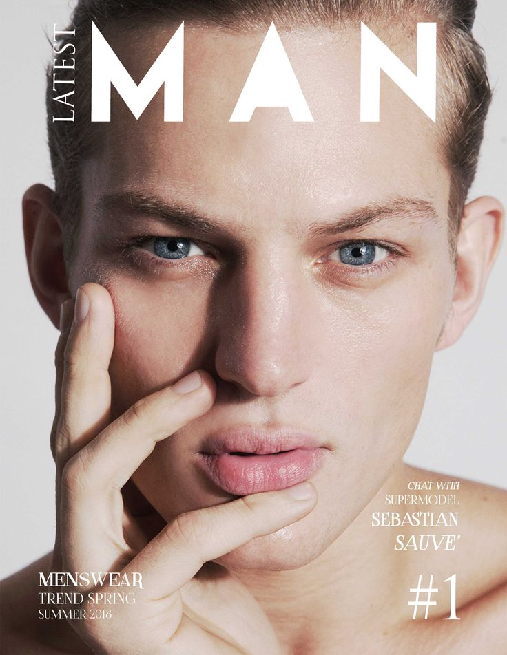 Sebastian Sauve cover Latest magazine #sebastiansauve #latesmagazine