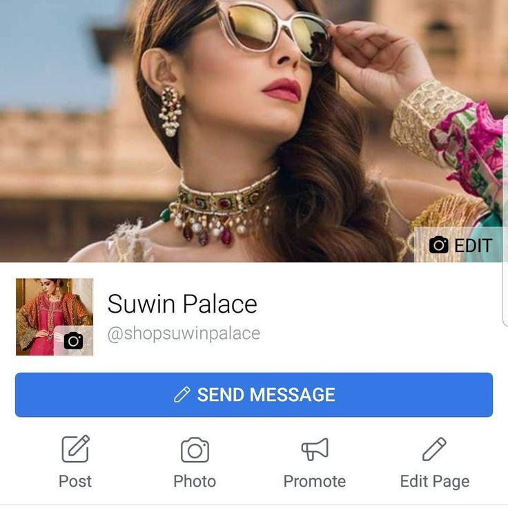 We are on facebook as @suwinpalace. Do like our page for our full collection. #suwinpalace #facebook #entrepreneur #designerwear #bollywiod #pakistanisuits  #pakistanioutfits #wholesale #arabic #hijab #abaya #kaftan #weddingsuits #lahengacholi #