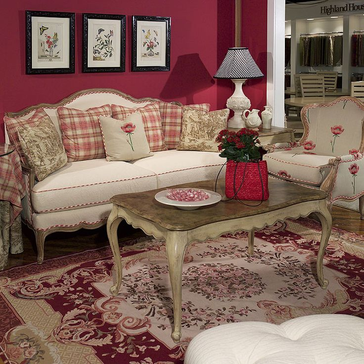 Highland House Furniture  4058 72   Veronique Scatterback Settee. 38 best images about Highland House on Pinterest   Chairs  873 and