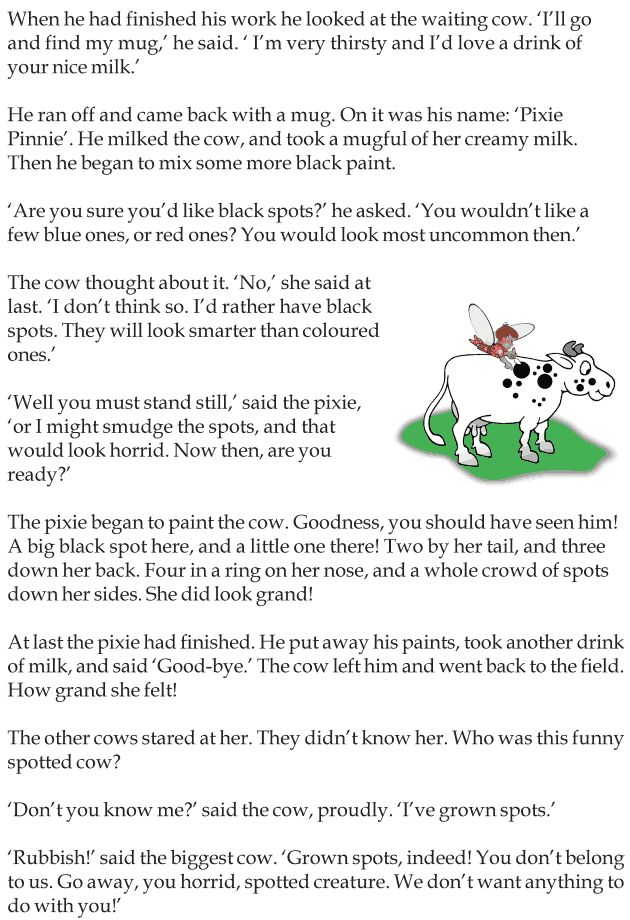 Cow essay in english for class 5