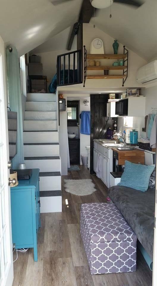 170 best images about tiny home ideas on pinterest tiny 2 bedroom tiny house on wheels floor plans Tiny House Loft