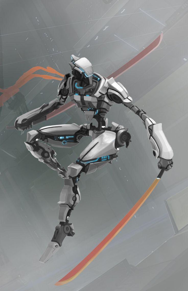ArtStation - Assassin Robot, Toan Nguyen | Sci-Fi / Mecha ...