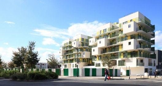28 Social Housing In Paris, France / KOZ Architectes