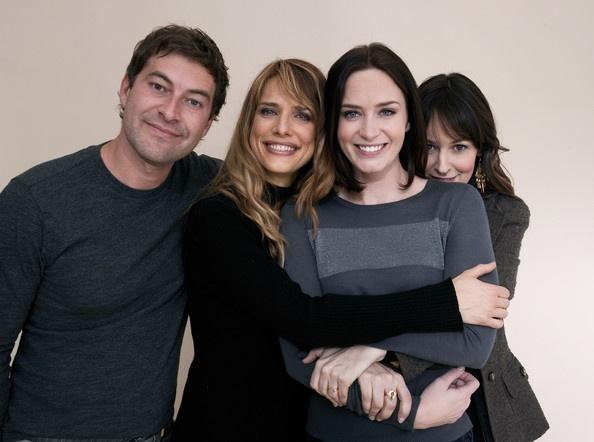 Mark Duplass, Lynn Shelton (director), Emily Blunt, and Rosemarie DeWitt for Your Sister's Sister