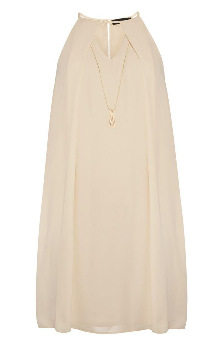 Primark - Peach Necklace Swing Dress