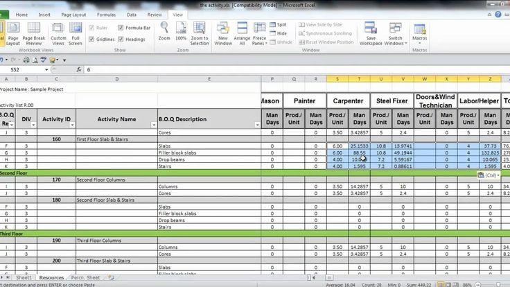 manpower planning excel template virtren com