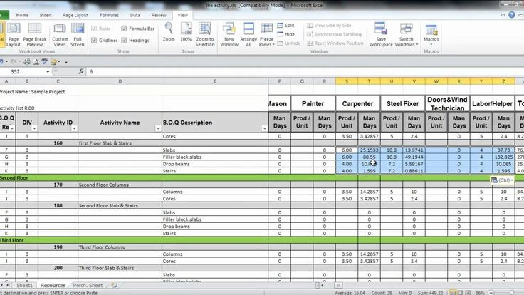 Manpower Planning Excel Template Virtren Com Excel
