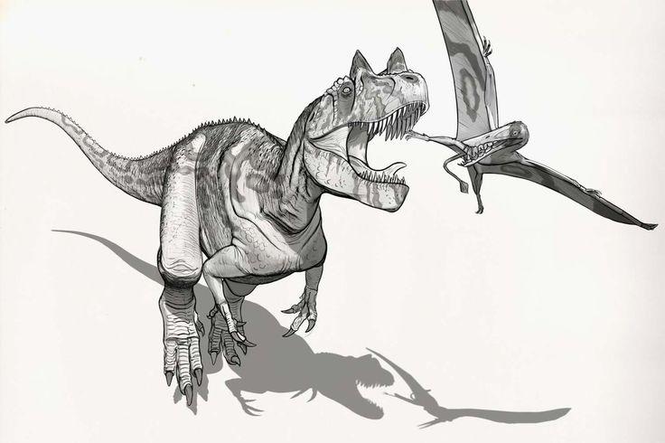 Draw Dinovember Day 26 Ceratosaurus by daitengu on DeviantArt