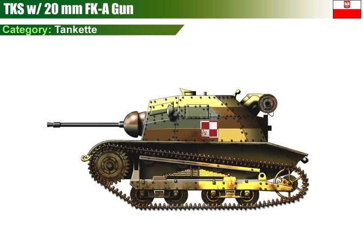 TKS with 20 mm FK-A cannon