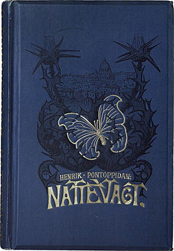 Nattevagt - book cover design