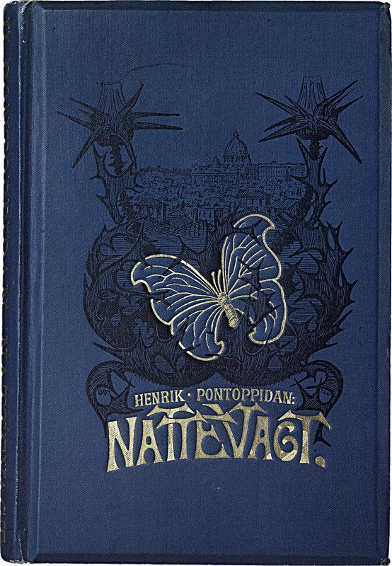 Nattevagt - book cover design