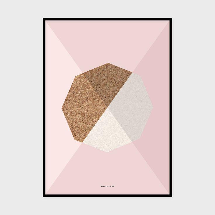 Kork 2 - plakat fra bentzenberg.dk Cork Poster