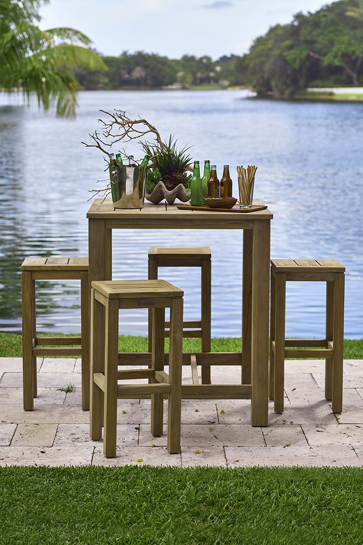 Palermo Teak Dining Set, An Exclusive Fifth U0026 Shore Outdoor Furniture  Collection. Visit A