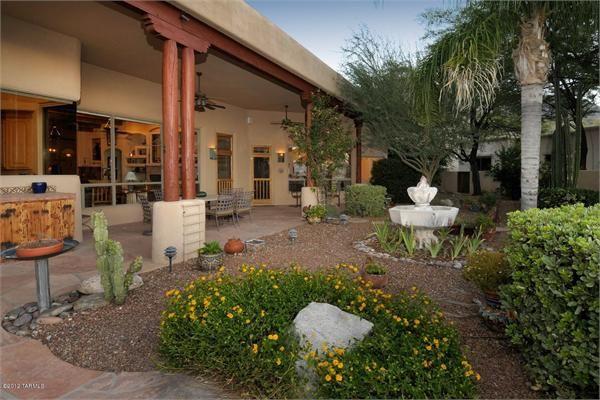 67 best images about Southwest Landscaping on Pinterest ... on Southwest Backyard Ideas id=11719