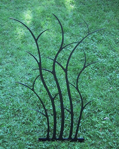 Branching Shrub Trellis T100 by Trellis Art Designs