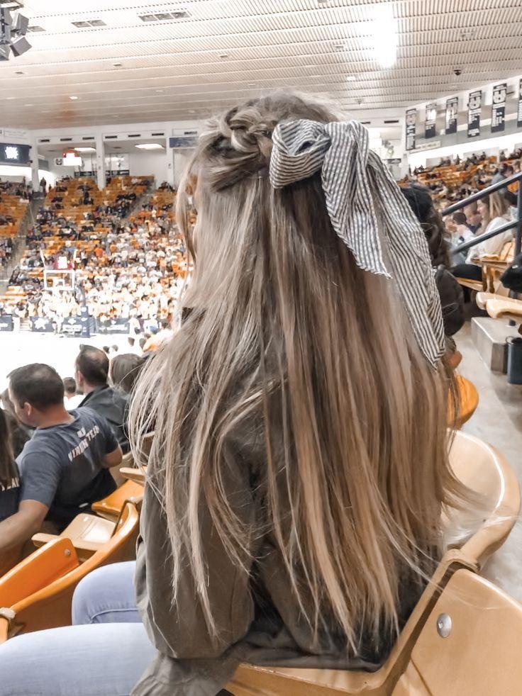 Braids + bows, #BeachHairstyles # bows #styles #hairstyles #summer hairstyles - #beachhairstyles #braids #hairstyles #styles #summer - #HairstyleCuteLongHair