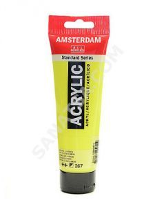 Talens Amsterdam Akrilik Boya 120 ml. 274 Nickel Titanium Yellow