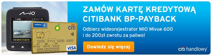 Promocja karta kredytowa Citibank