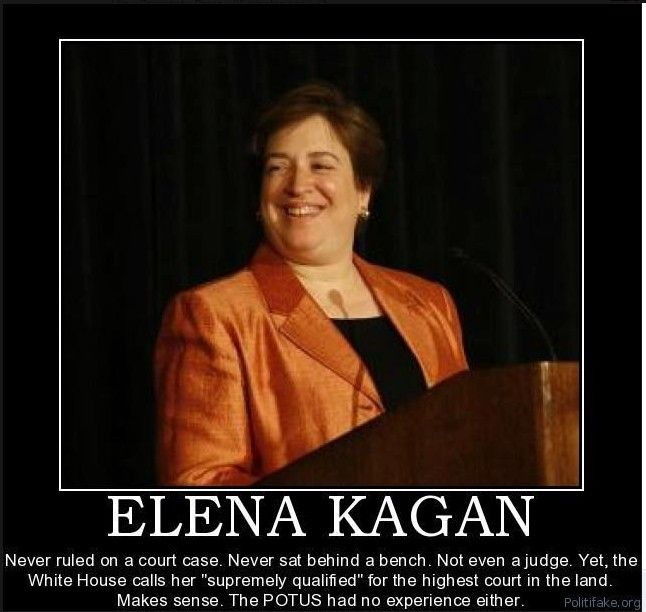 NEW INFORMATION ABOUT ELENA KAGAN!!!!! >>> SHE is named as the LAWYER defending against MANY of the lawsuits directed at OBAMA'S INELIGILIBITY!!!!! -- OH MY!!! -- And, then he appointed her to the SUPREME COURT -- NOW, that is going to be one totally UNBIASED Supreme Court Judge if those cases ever make it to the Supreme Court ~~~ yeah RIGHT -- The corruption in this administration is STAGGERING!!!!!