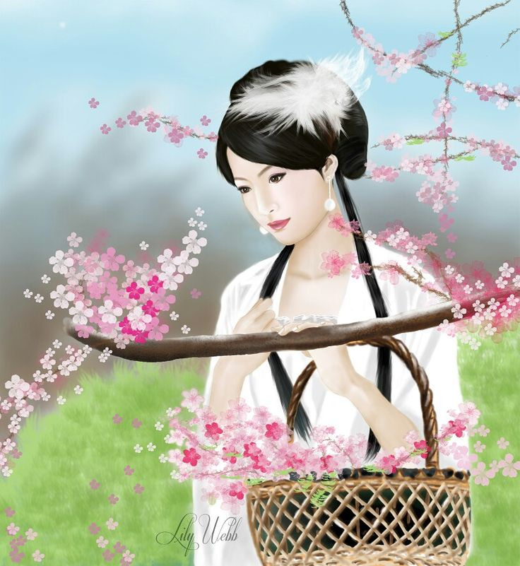 #Chinese painting. #DIGITAL PAINTING