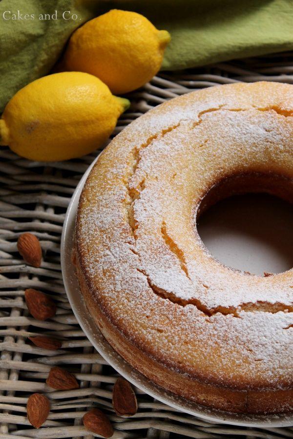 Ciambella con mandorle e limoni il ciambellone perfetto come dolce da colazione o come accompagnamento ad un buon tè semplicemente buono.